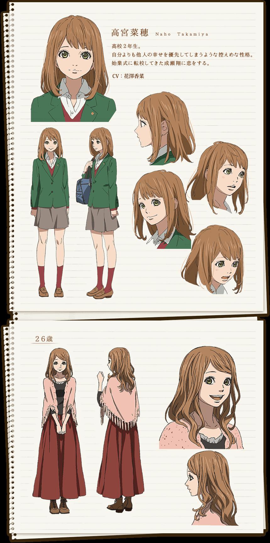 Character Tvアニメ Orange 公式サイト